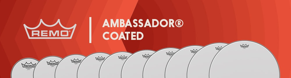 REMO AMBASSADOR® COATED