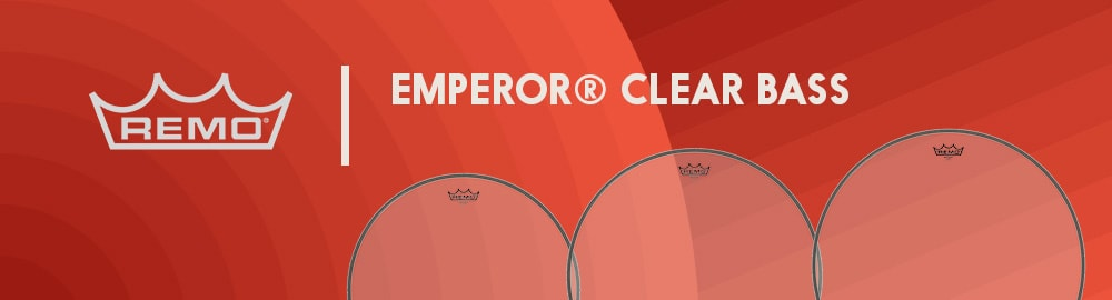 REMO EMPEROR® CLEAR BASS