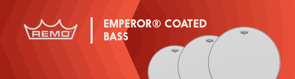 REMO EMPEROR® COATED BASS