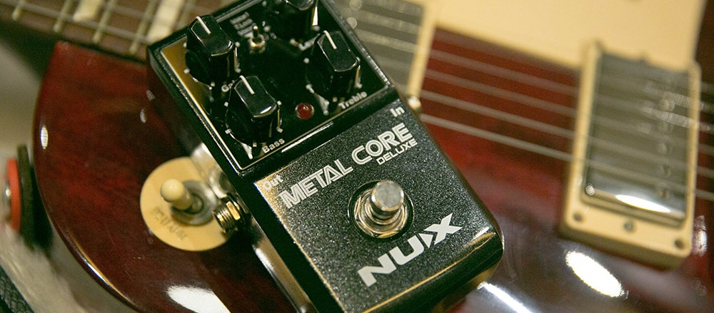 Nux Metal Core Deluxe Distortion Pedalı
