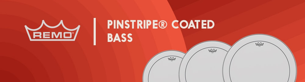 REMO PINSTRIPE® COATED BASS