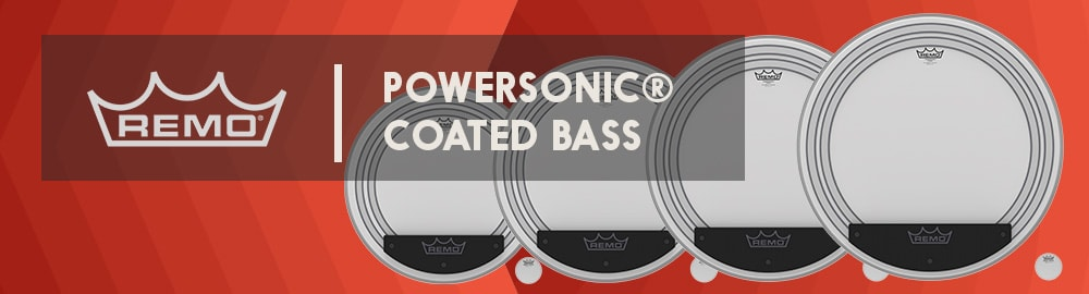 REMO POWERSONIC® COATED BASS