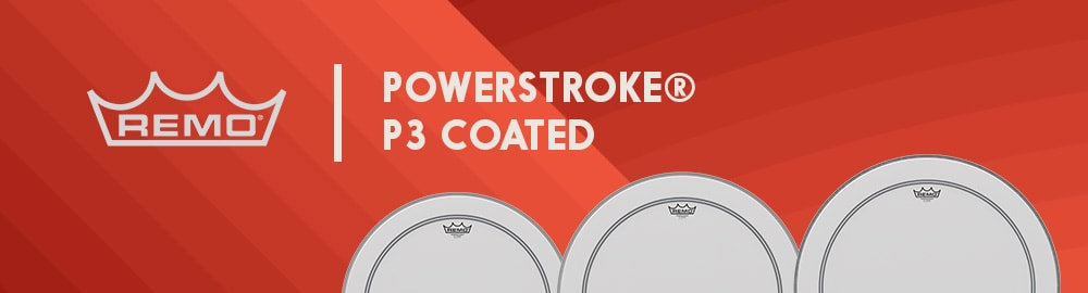 REMO POWERSTROKE® P3 COATED
