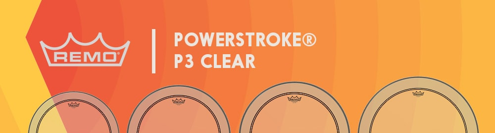 REMO POWERSTROKE® P3 CLEAR