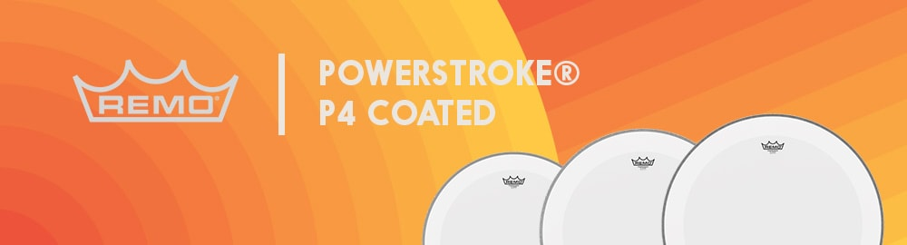REMO POWERSTROKE® P4 COATED