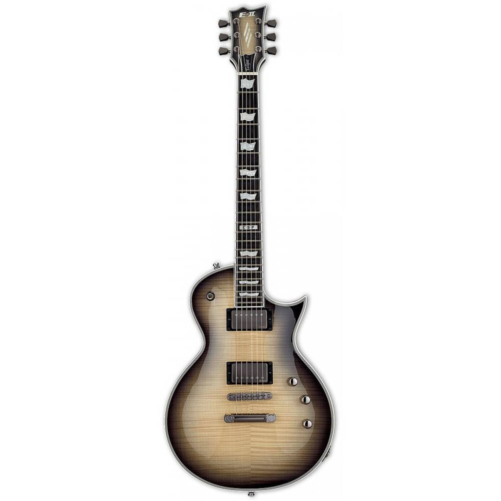 ESP E-II Eclipse Full Thickness Black Natural Burst Elektro Gitar