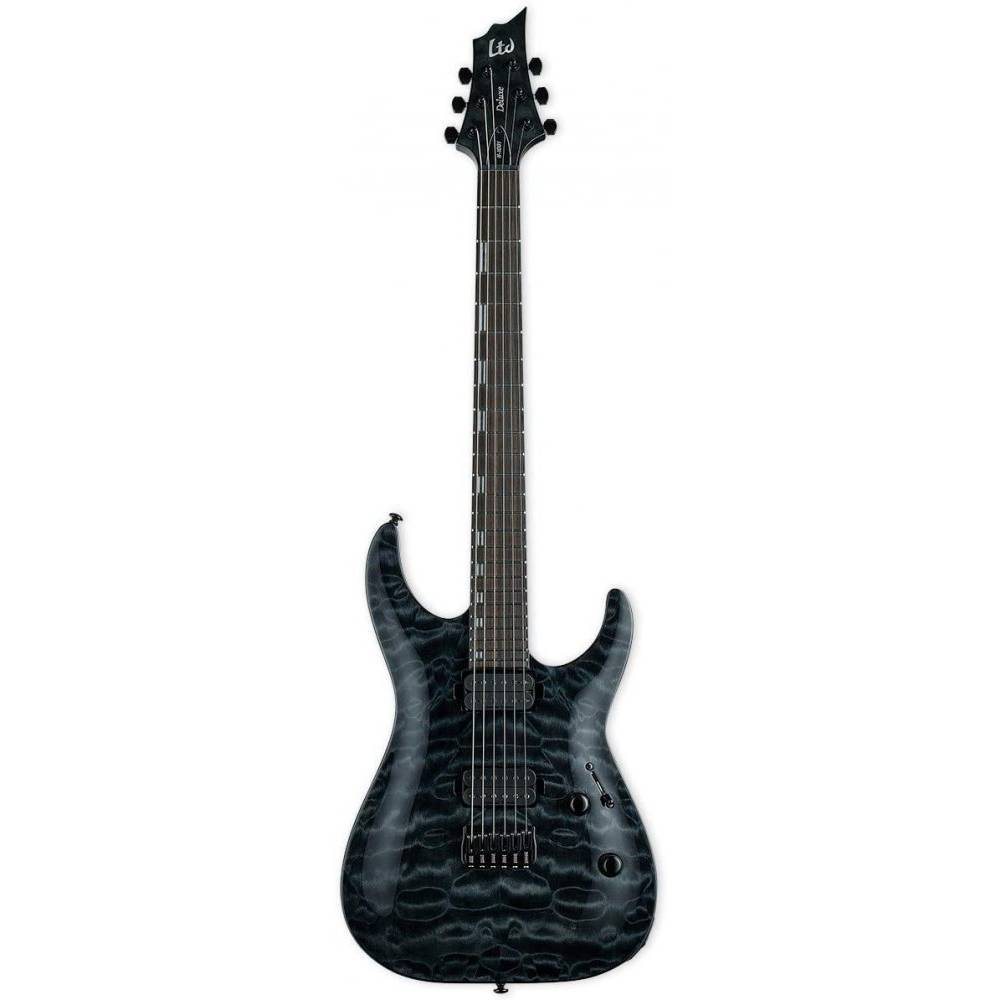 ESP LTD H-1001 See Thru Black Elektro Gitar