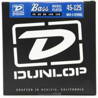Dunlop DBN45125 Nickel Plated Steel Medium 5 Telli Bas Gitar Takım Tel
