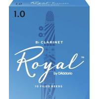 Daddario Woodwinds Royal RCB1010 Bb Klarnet Kamışı No:1