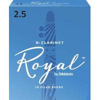 Daddario Woodwinds Royal RCB1025 Bb Klarnet Kamışı No:2,5