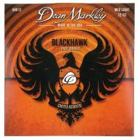 Dean Markley Blackhawk 8012 Kaplamalı 12-53 Medium Light Akustik Gitar Takım Tel