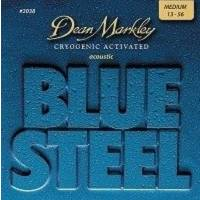 Dean Markley Blue Steel 2038 (13-56) - Medium Akustik Gitar Tel Seti
