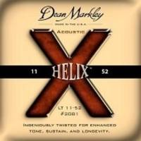 Dean Markley Helix HD 2081 (11-52) - Light Akustik Gitar Tel Seti