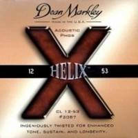 Dean Markley Helix HD Phos 2087 (12-53) - Medium Light Akustik Gitar Tel Seti