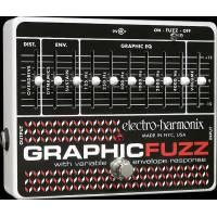 Electro-Harmonix GRAPHIC FUZZ EQ/Distortion/Sustainer Analog Efekt Pedalı