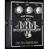 Electro-Harmonix Micro Metal Muff Top Boost'lu Distortion Analog Efe