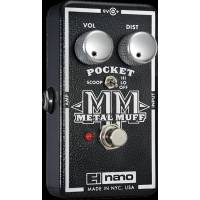 Electro-Harmonix Pocket Metal Muff Nano Mid Scoop'lu Distortion Analog Efe