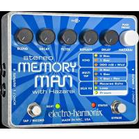 Electro-Harmonix Stereo Memory Man with Hazarai - Digital Delay/Looper Ped