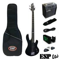ESP LTD B-PACK Black Satin Bas Gitar