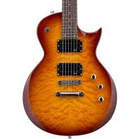 ESP LTD EC-100 QM Faded Cherry Sunburst Elektro Gitar