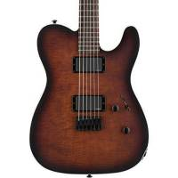 ESP LTD TE-406 Dark Brown Sunburst Elektro Gitar