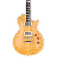 ESP LTD USA Eclipse QM Vintage Natural Duncan Elektro Gitar