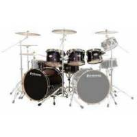 Ludwig LCEP22FXTB BATERİ EPIC FUNK TRANSPARENT BLACK  (6 PC)