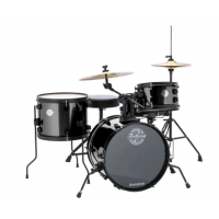 Ludwig The Pocket Kit by Questlove Black Sparkle Çocuklar İçin Akustik Davul Seti