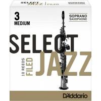 Rico Jazz Select RSF10SSX3M Soprano Saksafon Kamışı No:3 Medium