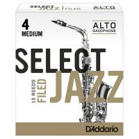 Select Jazz Alto Saksofon Kamışı (10Lu) Medium No.4
